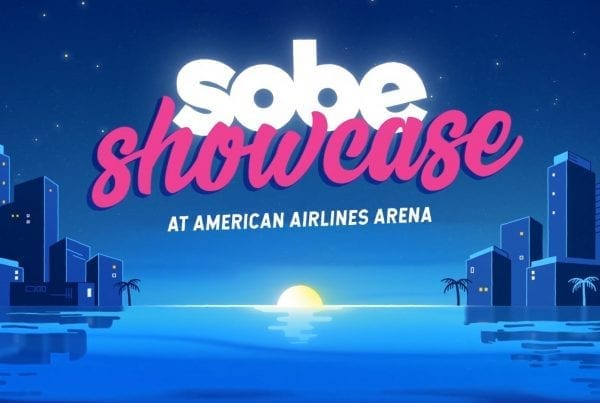 Sobe Showcase AA Arena - Artex Productions - Best VFX Animation & Commercial Video Production in Miami, FL