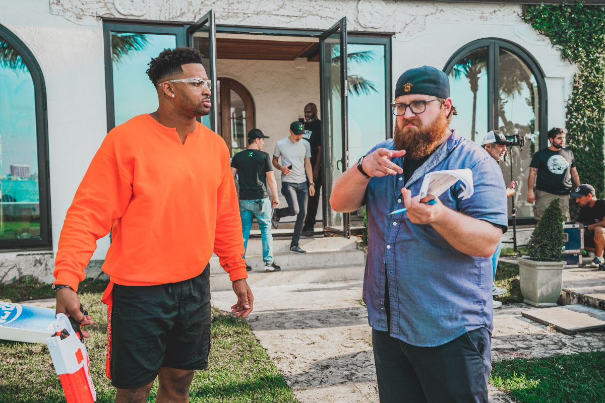 Nerf House - Jamal Adams - Artex Productions - Commercial Production Miami